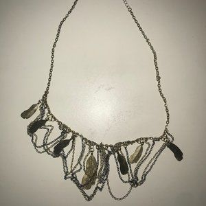 Boho Feather Neckalce